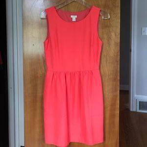 J. Crew Pink Sheath Dress